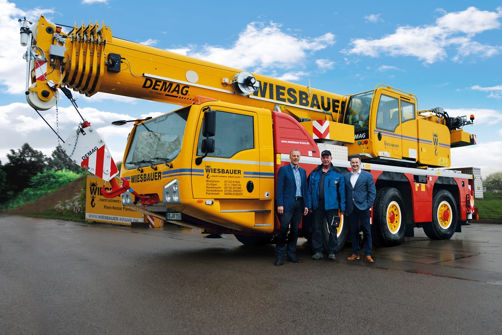 Demag Ac 55-3 All Terrain Crane Archives