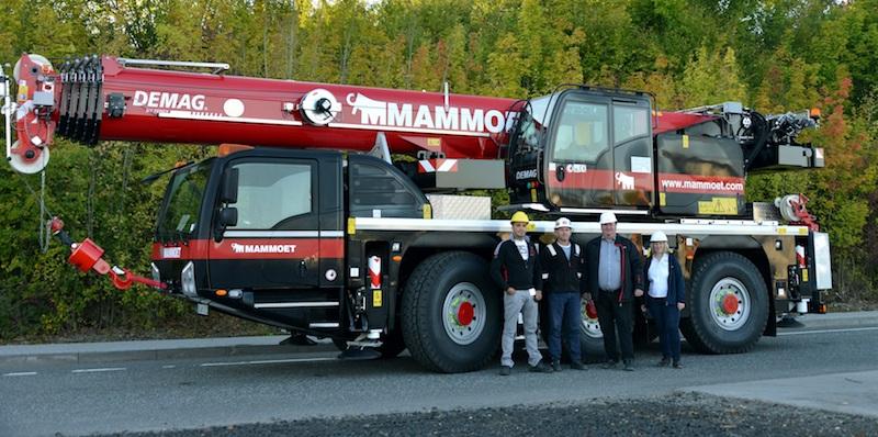 Mammoet Buys Its First Demag Ac 55-3 All Terrain Crane