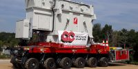 Groupe Cayon relies on Cometto MSPE to move 85t transformer